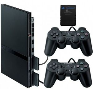 PS2 Slim with 2 controllers and 8GB memory Card + 9 Games Kitchener / Waterloo Kitchener Area image 6