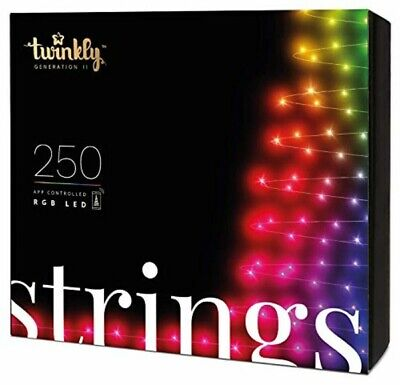 Twinkly App Control String Light With 250 Multicolor RGB LED Lights