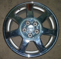 "Set of 17"" chrome alloy rims for Cadillac STS"