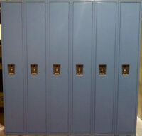 LOCKERS ON SALE. ALL TYPES AND SIZES. LOCKER ROOM BENCHES ALSO