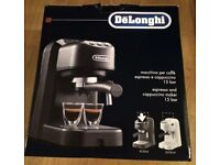 DeLonghi espresso and cappucino maker
