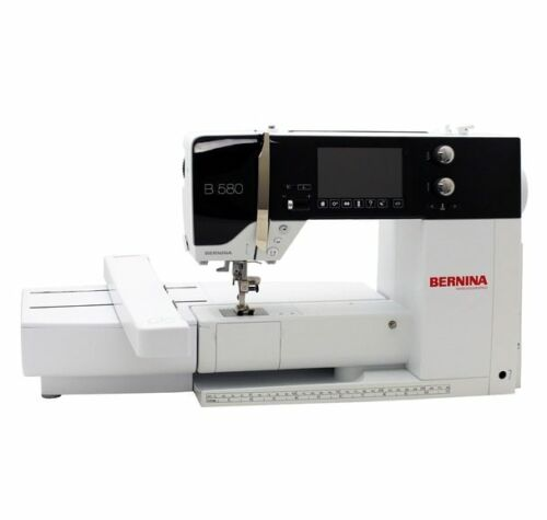 BERNINA B580E B 580 E Embroidery Sewing Combo Machine with Embroidery Module