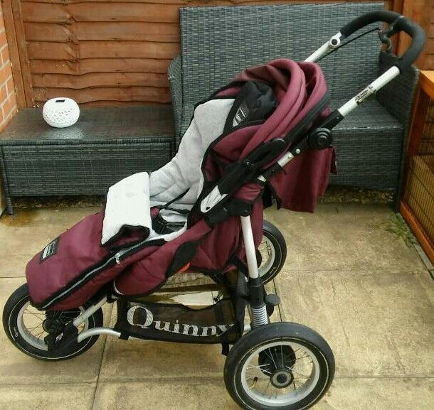 Quinny Freestyle Xl All Terrain Jogger Pushchair In