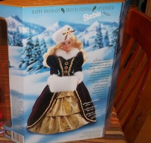 SPECIAL EDITION CHRISTMAS BARBIE $25