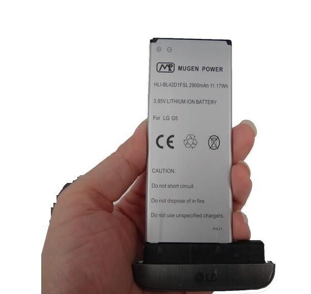 Details about Mugen Power 2900mAh Slim Extended Battery For LG G5 VS987  Verizon Sprint LS992