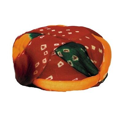 Traditional Indian Pagadi Musician Turban Hat - Raga - Great Halloween Costume ](Musician Halloween Costume)