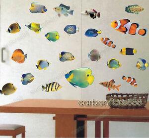 ... -Tropicale-Mare-Nemo-Adesivi-Da-Parete-Bagno-Bambini-Decorazioni-Per