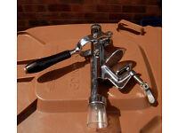 Solid steel table / bench / worktop mounted Corkscrew