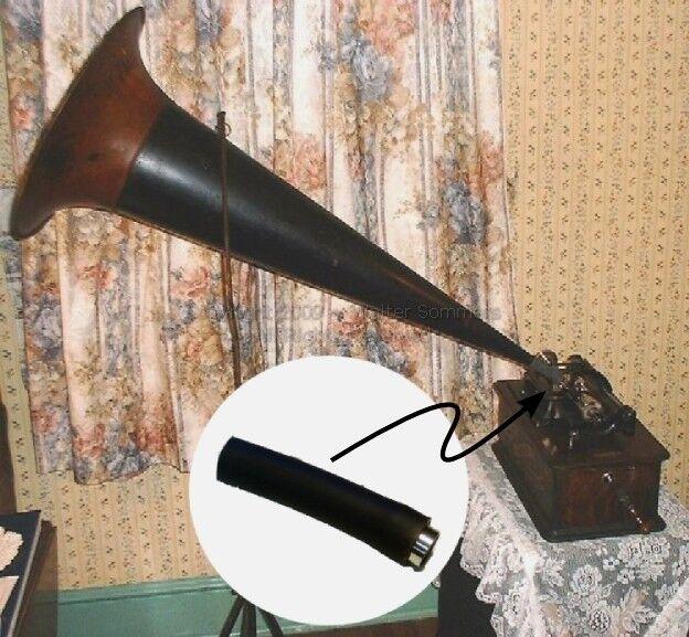 Rubber Connector & Swivel for Edison 10,11 Panel Home/Standard/Fireside Horn