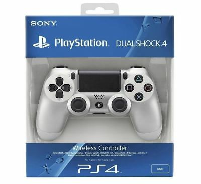 Sony - Dualshock 4 Wireless Controller for Sony PlayStation 4 - Silver