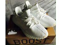 Adidas Yeezy....Brand New White/WhiteWhite!!!!Yeezy