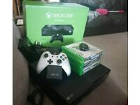 Xbox one 500gb with games