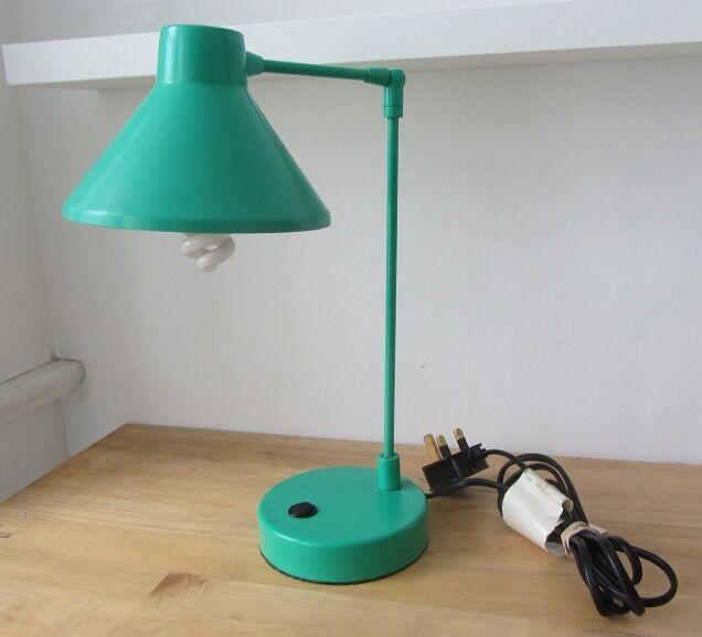Green habitat bobby desk lamp in london bridge london for Industrial floor lamp gum tree