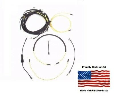 Complete Wiring Harness John Deere B Bn Bnh Bo Br Bw Bwh Bwh40 Tractor