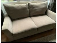 3 seater and 2 seater sofa from next matching