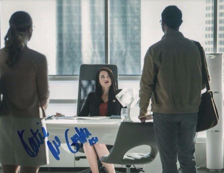Katie McGrath Supergirl Autographed Signed 8x10 Photo COA #7