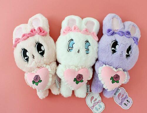 [ ESTHER BUNNY ] Plush Doll With Heart  25cm estherlovesyou Stuffed Animal