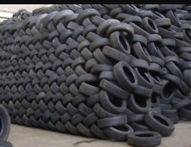 "QUALITY PART WORN TYRES £7 ALL SIZES 15-20"" 4-7mm TREAD WHOLESALE JOB LOT"