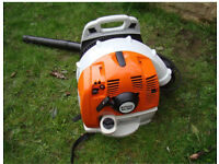Stihl BR 350 Back Pack Blower as new