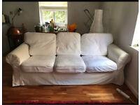 Off white sofa