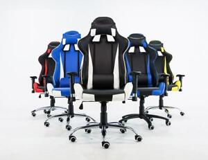 Blue&Black Office Chairs Gaming Chair Racing Seats Computer Chair  251027
