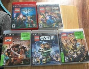 Lego games ps3