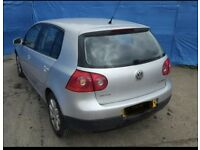 Golf MK5 Rear Bumper LA7W Silver