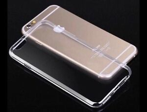 Ultra thin clear soft silicon case for iphone 6/6s London Ontario image 2