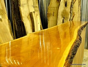 Natural Edge Wood For Bar Tops-Tables,Cherry,Maple, Ash