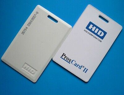 Hid Proxcard Ii Proximity Cards Security Access Badges