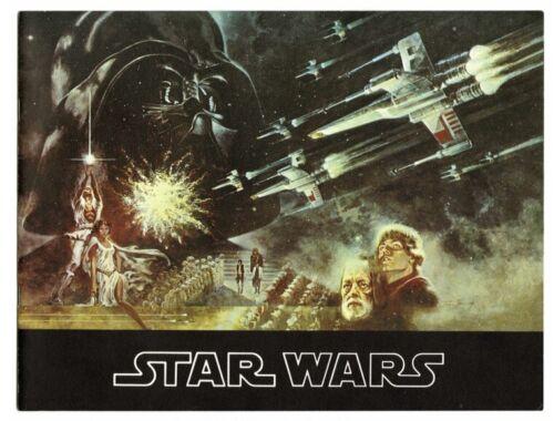 Star Wars Souvenir Program (Twentieth Century Fox, Original 1977)