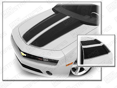 Chevrolet Camaro Rally Sport Stripes Hood & Trunk Decals 2010 2011 2012 2013 -