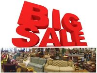 HUGE SELECTION OF SOFAS & CHAIRS! MASSIVE CLEARANCE SALE!!!!