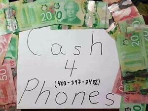 $$ Cash $$ Paid for all Phones - iPhones, Samsung, LG, HTC