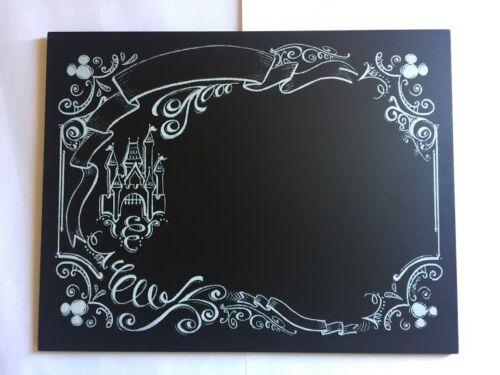Disney Parks World Magic Kingdom Castle Kitchen Chalk Board