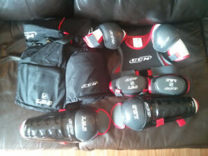 Various Youth sized hockey gear