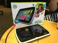 LEAPFROG EPIC LATEST TABLET FOR KIDS COST £119 I HAVE 2 TWINS SELL £75 COLLECT OR MEET AT STATION