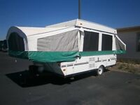 24ft tent trailer with a/c