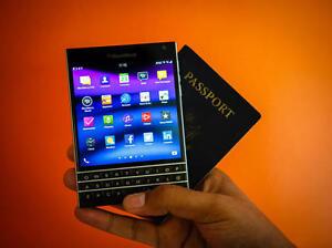Mint Condition BlackBerry PASSPORT -Unlocked-Black-32GB=$360