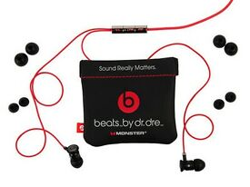 Monster Dr Dre UrBeats In Ear Headphones Earphones - Black