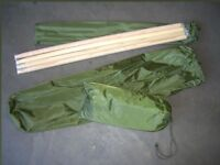 New, Never Used Army Style Mosquito Nets x3