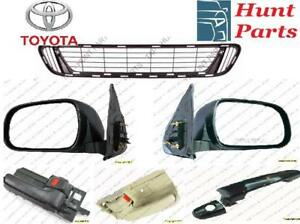 Toyota Sienna 2004 2005 2006 2007 2008 2009 2010 Door Handle Outer Mirror Grille Lower Upper Hood Latch Hinge