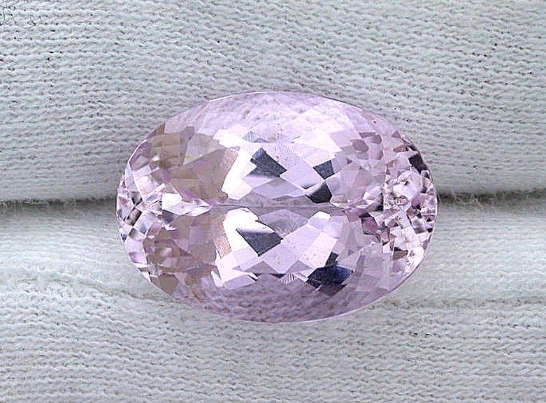 15.03 Ct 18x13 18mm x 13mm Oval Natural Afghanistan Kunzite Gem Stone Gemstone