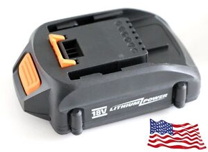 NEW Replacement WORX WA3512.1 WA3512 18V Rockwell RW9161 Lithium Trimmer Battery