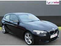 2013 BMW 1 Series 116D M SPORT Diesel black Manual