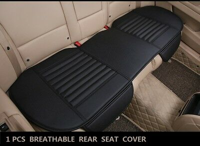 (Universal Rear Back Car Seat Cover Protector PU Leather Mat Pad Chair Cushion)