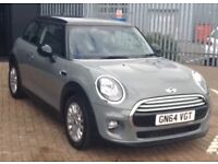Mini Cooper moonwalk grey with park assist! Automatic, low mileage, full service history