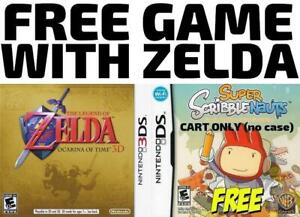 3DS/DS Games For Sale or Trade - Legend Of Zelda + FREE GAME!