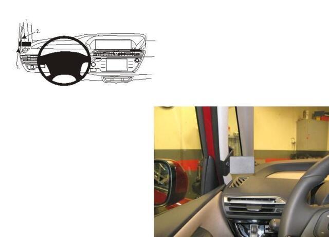 BRODIT ProClip 804931 Citroen C4 Picasso, New 2013 KFZ-Halter Halterung Konsole