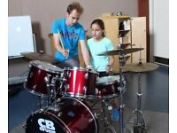 Drum Lessons For Kids & Adults Now Half Price Taster Lessons.